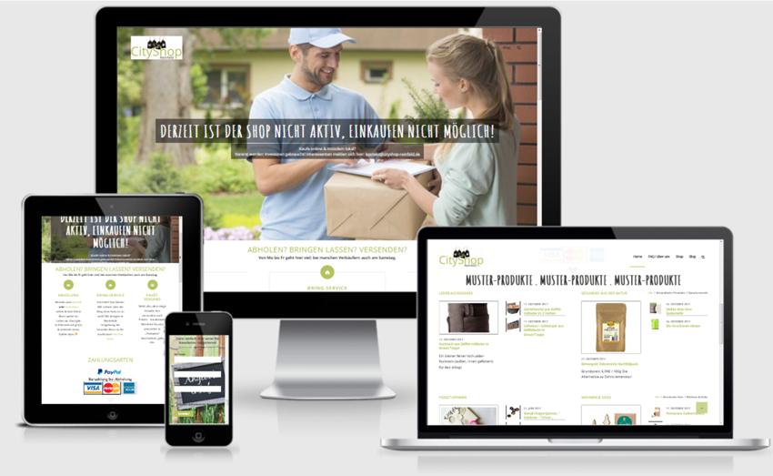 zu verkaufen ein online shop in shop portal f r st dte regionen tiefenschaerfe. Black Bedroom Furniture Sets. Home Design Ideas